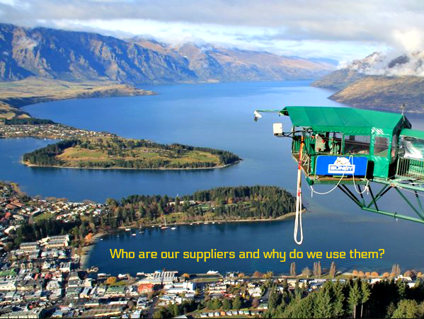 Who are our suppliers & why do we use them